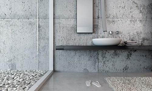 Waschbecken mit Compositesprodukten von Dorfner